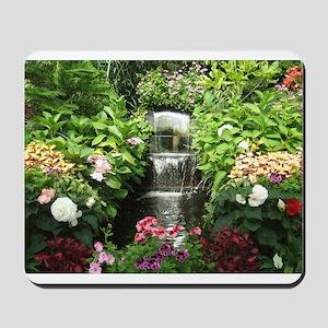Waterfall Greenhouse Mousepad