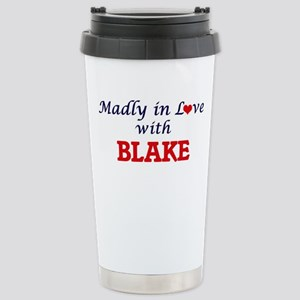 Madly in love with Blak Stainless Steel Travel Mug