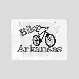 Bike Arkansas 5'x7'Area Rug