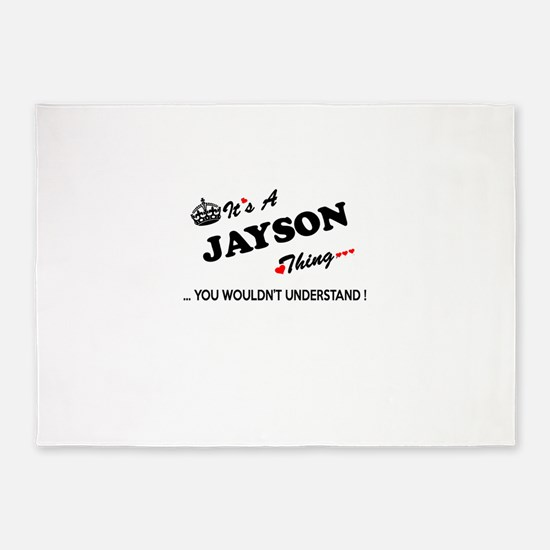 JAYSON thing, you wouldn't understa 5'x7'Area Rug