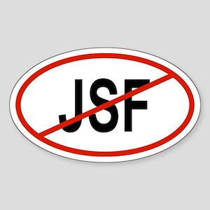 JSF Oval Sticker