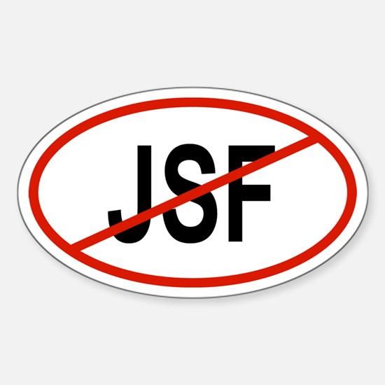 JSF Oval Decal
