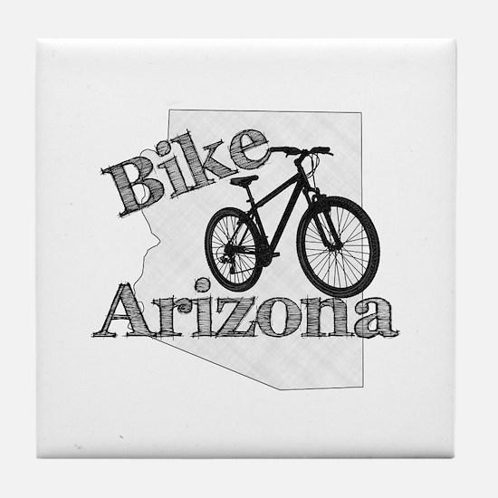 Bike Arizona Tile Coaster