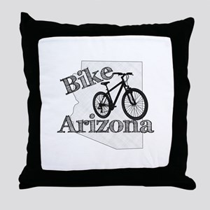 Bike Arizona Throw Pillow