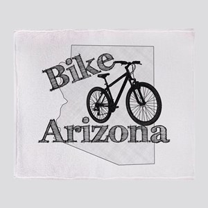 Bike Arizona Throw Blanket