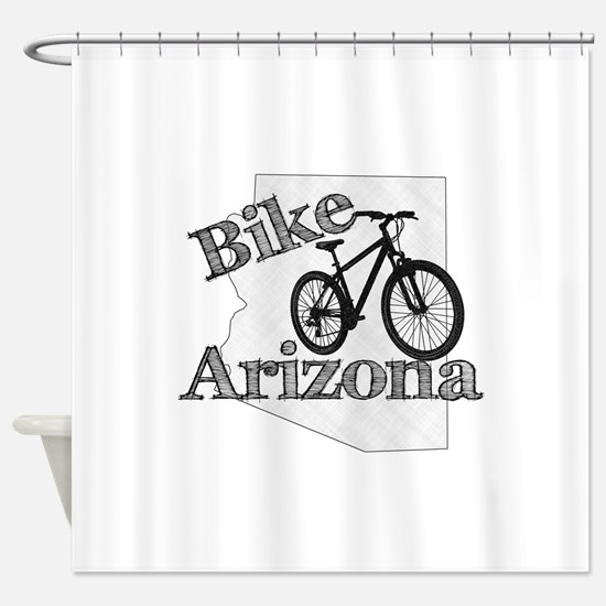 Bike Arizona Shower Curtain