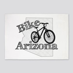 Bike Arizona 5'x7'Area Rug