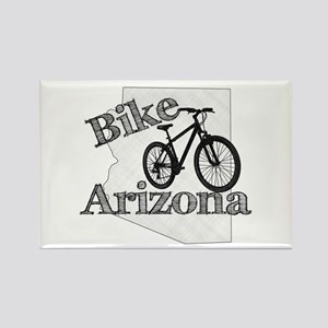 Bike Arizona Rectangle Magnet