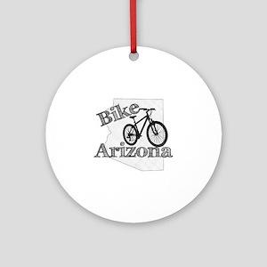 Bike Arizona Round Ornament