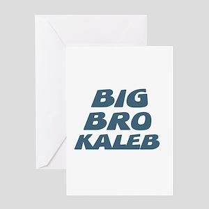 Big Bro Kaleb Greeting Card