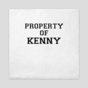 Property of KENNY Queen Duvet