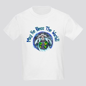 May He Bless The World! Kids T-Shirt