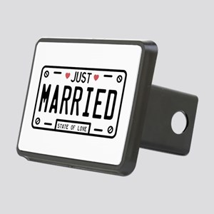 Just Married Hitch Cover