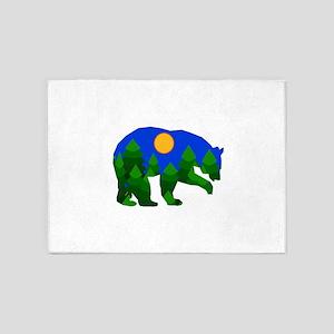 BEAR 5'x7'Area Rug