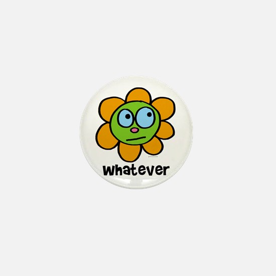 Whatever flower Mini Button