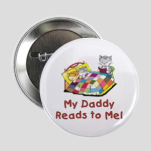 "Daddy Reads 2.25"" Button"