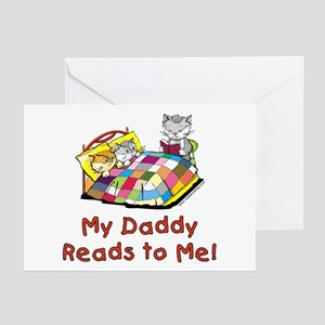 Daddy Reads Greeting Cards (Pk of 10)