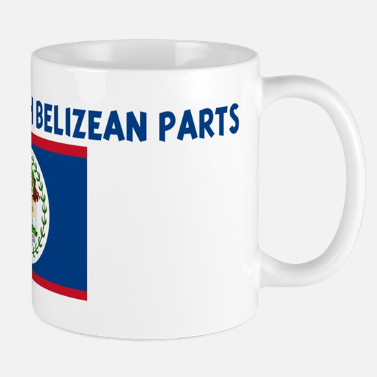 MADE IN US WITH BELIZEAN PART Mug