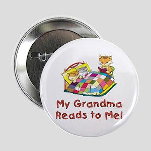 """Grandpa Reads 2.25"""" Button"""