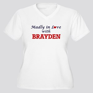 Madly in love with Brayden Plus Size T-Shirt