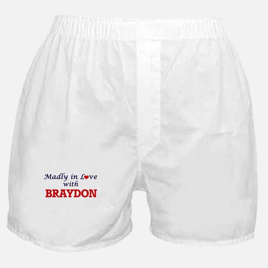 Madly in love with Braydon Boxer Shorts