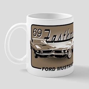 69 Fastback - Ford Mustang Mug
