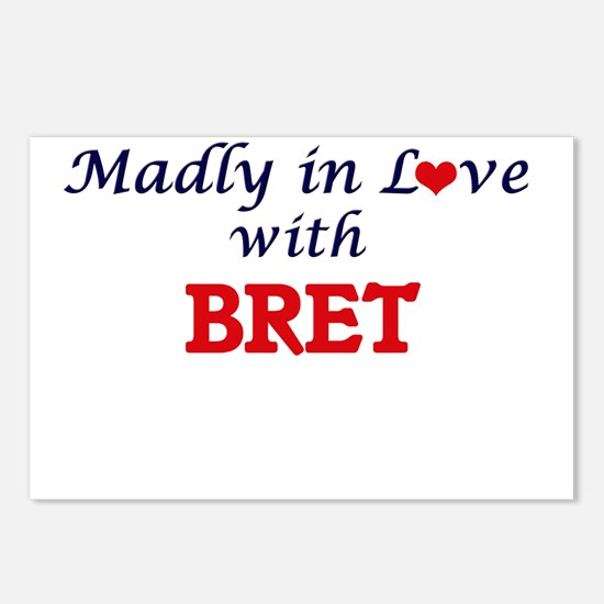 Madly in love with Bret Postcards (Package of 8)