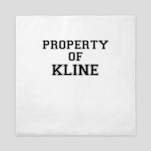 Property of KLINE Queen Duvet