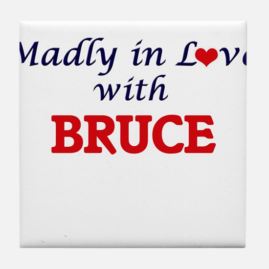Madly in love with Bruce Tile Coaster