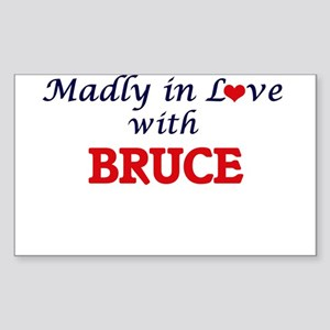 Madly in love with Bruce Sticker