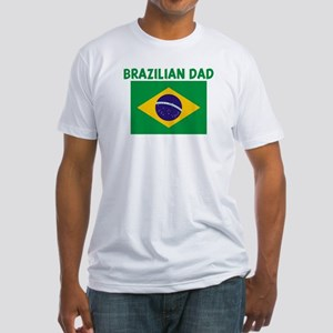 BRAZILIAN DAD Fitted T-Shirt
