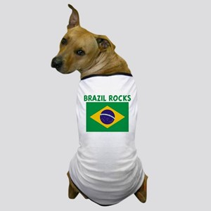 BRAZIL ROCKS Dog T-Shirt