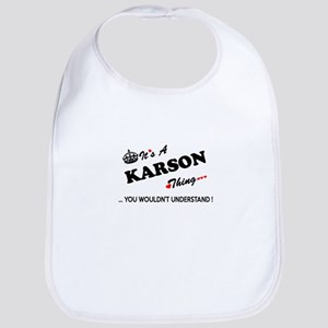 KARSON thing, you wouldn't understand Bib