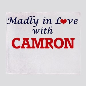 Madly in love with Camron Throw Blanket