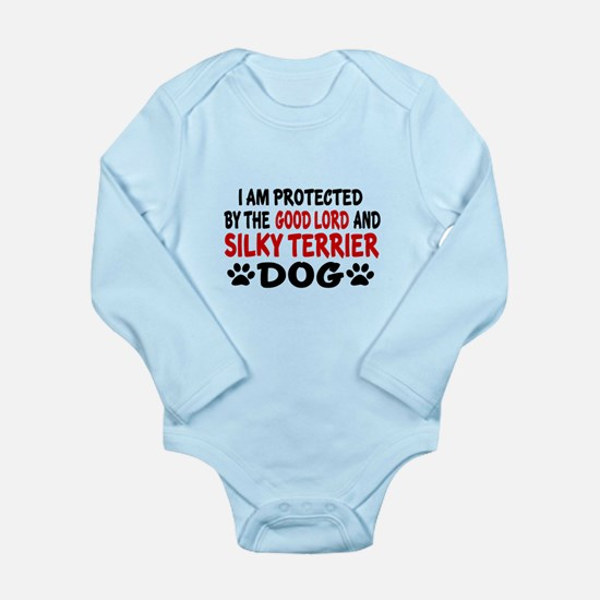 Protected By Silky ter Long Sleeve Infant Bodysuit