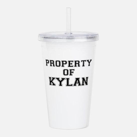 Property of KYLAN Acrylic Double-wall Tumbler