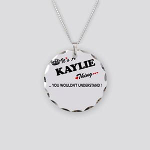 KAYLIE thing, you wouldn't u Necklace Circle Charm