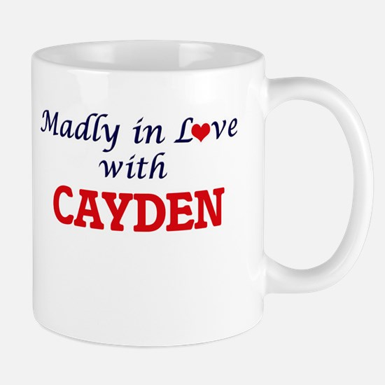 Madly in love with Cayden Mugs