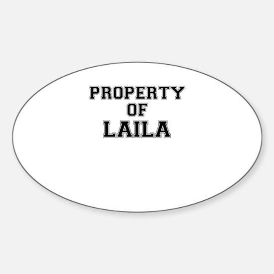 Property of LAILA Decal