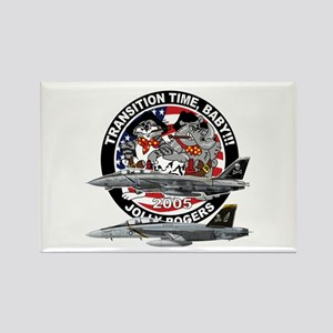 F-14 Jolly Rogers Rectangle Magnet