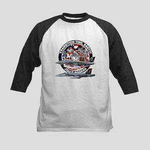 F-14 Jolly Rogers Kids Baseball Jersey