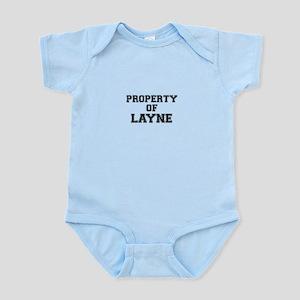 Property of LAYNE Body Suit