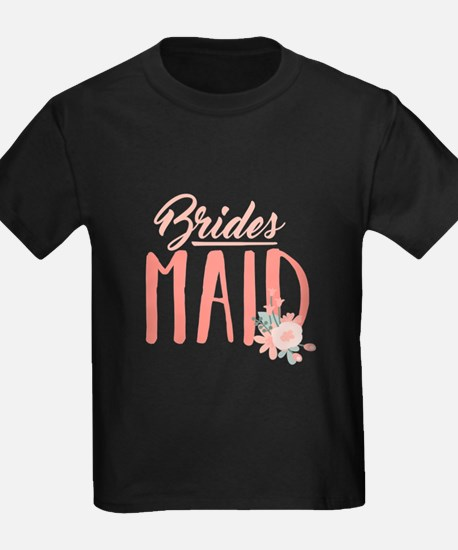 Bridesmaid Flowers T-Shirt