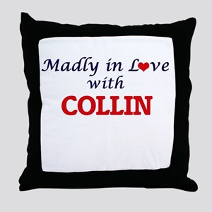 Madly in love with Collin Throw Pillow