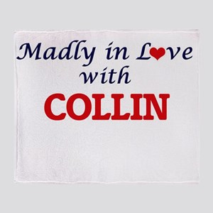 Madly in love with Collin Throw Blanket