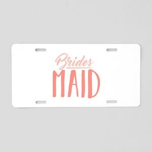 Bridesmaid Aluminum License Plate