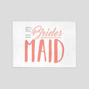 Be My Bridesmaid 5'x7'Area Rug