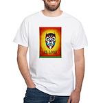 Mexican Wrestling Werewolf White T-Shirt