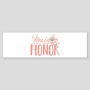 Maid Of Honor Bumper Sticker