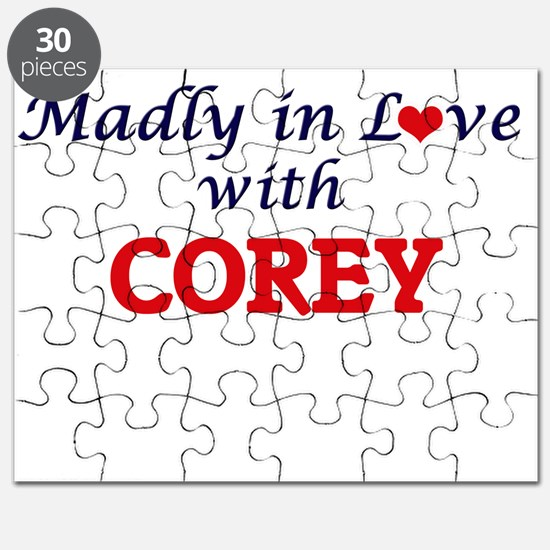 Madly in love with Corey Puzzle